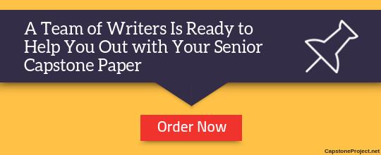 expert senior capstone ideas