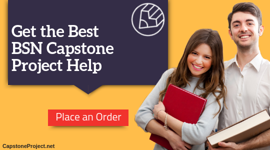 expert bsn capstone project ideas