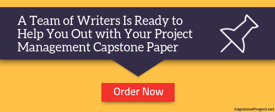 project management capstone assistance