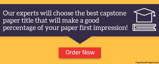 capstone paper help online