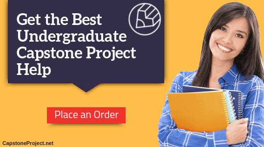 capstone project undergraduate help
