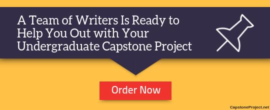 undergraduate capstone paper assistance
