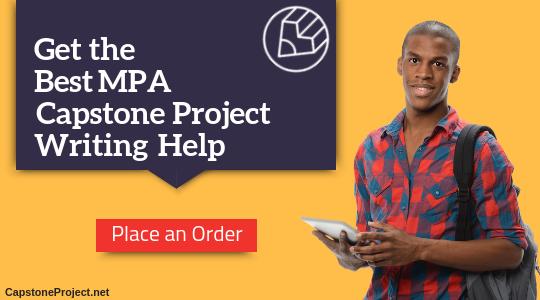 mpa capstone writing help