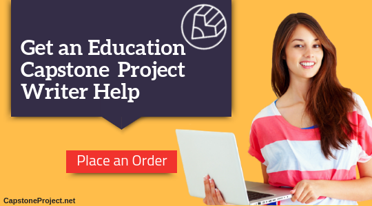 best education capstone project ideas