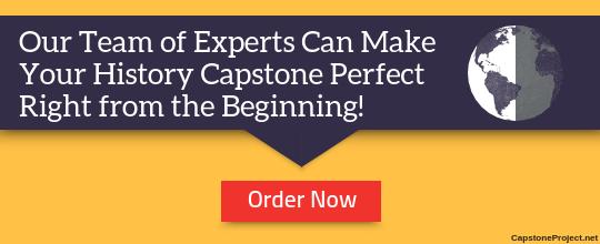 history capstone writing help online