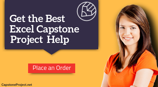 excel capstone project writing service