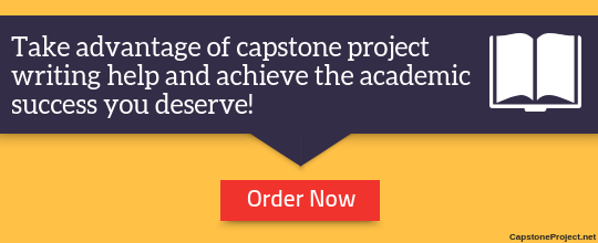 thesis or capstone project writing online