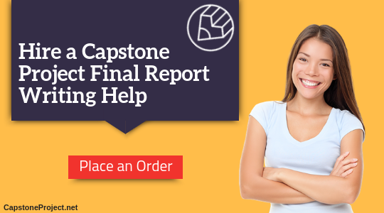 capstone project final report writing help