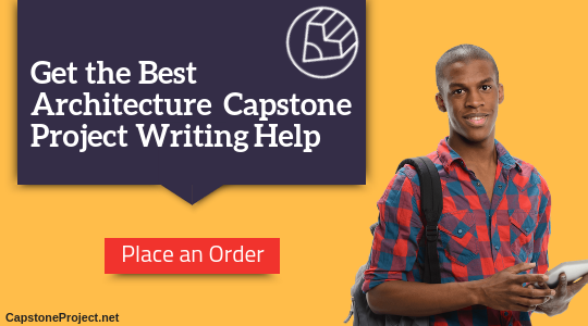 capstone project architecture writing help
