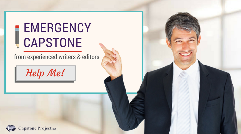 emergency department capstone paper help