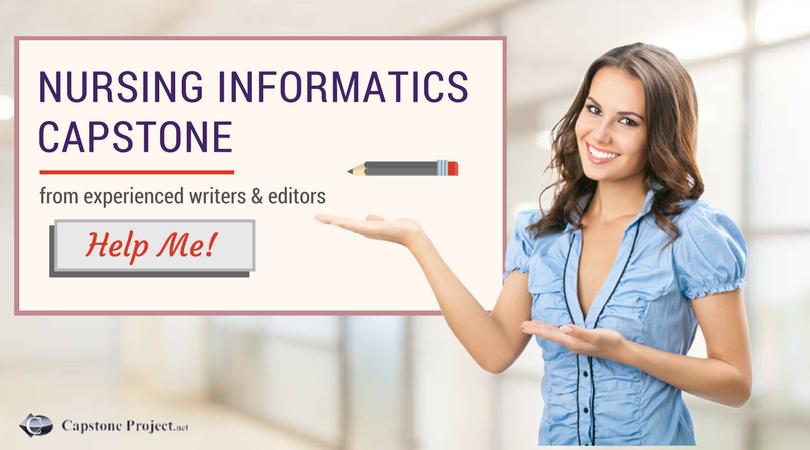 nursing informatics capstone project