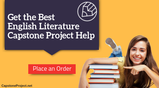 best capstone project ideas english literature