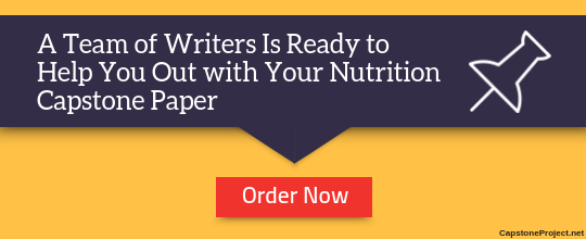 nutrition capstone paper writers