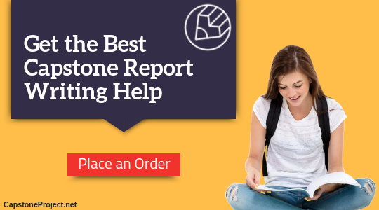 capstone report writing service