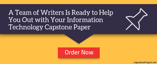 expert information technology capstone project ideas