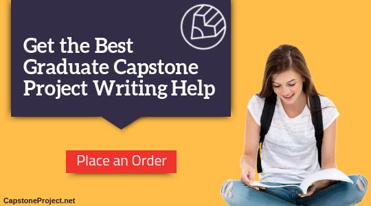 graduate capstone project writing service