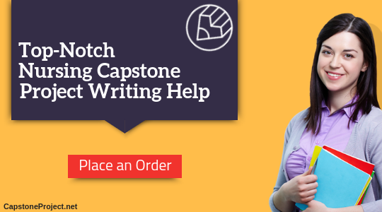 nursing capstone project writing service