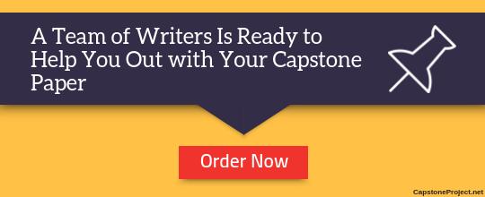 professional capstone help