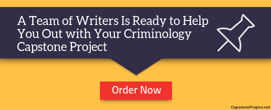 professional criminology capstone