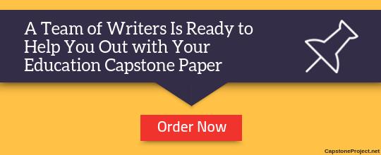 professional education capstone