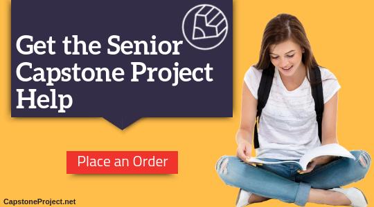 senior capstone project help