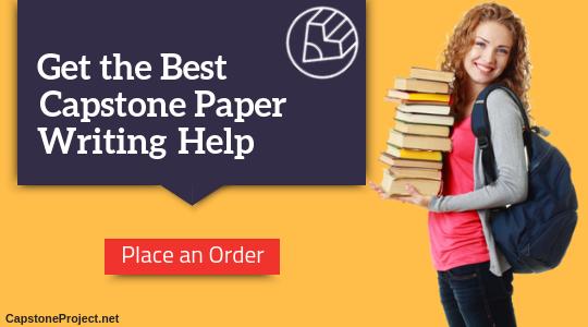writing capstone paper
